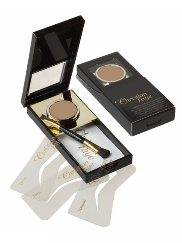 Eyebrow make-up brown buy now at My Headwear, specilised in chemo hats and cosmetics