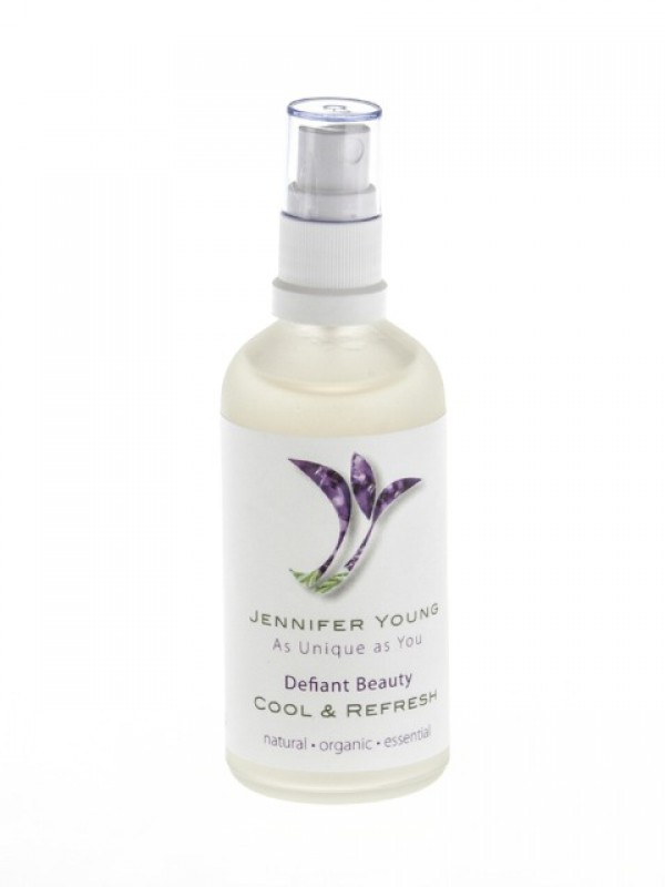 Defiant Beauty Cool & refresh spray - buy now at My Headwear, specilised in chemo hats and cosmetics