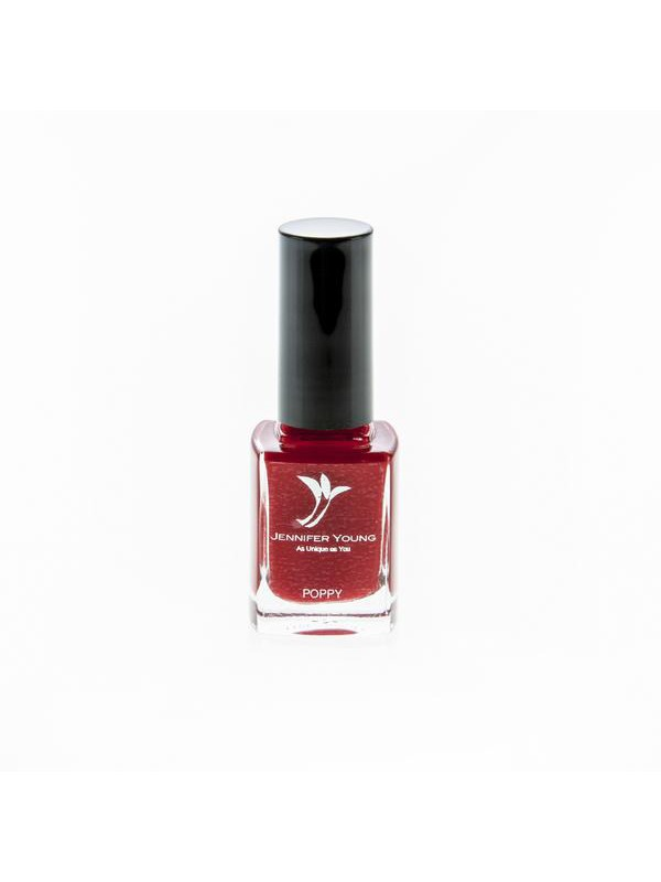 Jennifer Young Nail Varnish Poppy - Red buy now at My Headwear, specilised in chemo hats and cosmetics